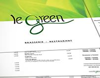 GREEN : Corporate identity