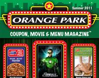 OP Coupon, Movie & Menu Magazine #1