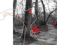 Subjective map, Bordeaux city suburban park
