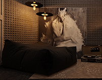 "Design project of Kiev music studio ""THE MOST"""