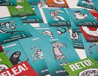Pelea! Cards game.