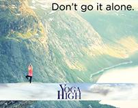 Yoga High - Studio Specials Poster Ad Campaign