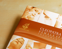 Cleopatra Female Spa Treatments Brochure