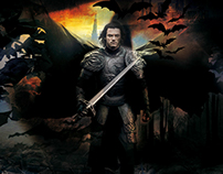 Cover art for the digital release for Dracula Untold
