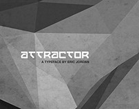 """Attractor"" Typeface Design (Free)"
