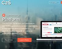 Registration for e-commerce Platform
