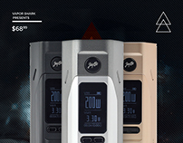 "Vapor Shark - ""RX2/3"" Email Campaign"