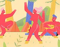 Naked Hiking - Editorial