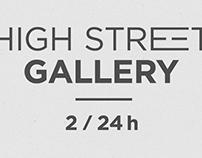 HIGH STREET GALLERY // Logo Design