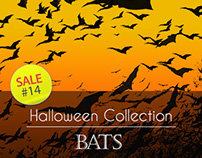 Sale#14: Halloween Collection - Bats