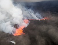 Reykjavik to Holuhraun: Flying over the volcano