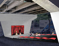 Proposta para Baixio de Viaduto, Belo Horizonte, MG