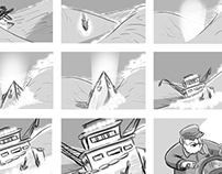 Sail Away Storyboards
