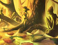 Frogs | CGI Visual Development