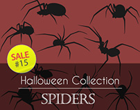 Sale#15: Halloween Collection - Spiders