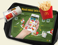 McDonalds Tray insert design