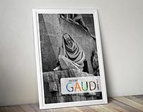 poster design #Tribute to Antonì Gaudì