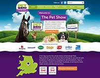 The Pet Show Brand Development and Website