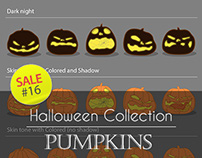 Sale#16: Halloween Collection - Pumpkins