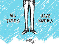 Trees with knees poster
