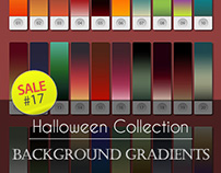 Sale#17: Halloween Collection - Background Gradients