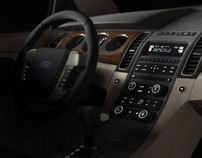 Auto Interior Renderings