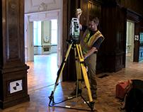 3D Scanning the Carnegie Mansion