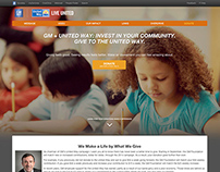 GM + United Way // Microsite