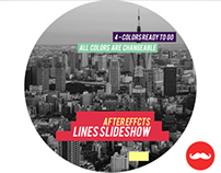 Lines Slideshow // Videohive
