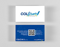 Colfirma - Business card