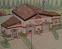 Ray Township Fire Department sketches