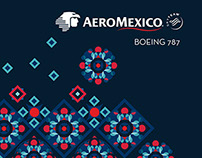 Custom proposal for the Aeromexico's Boeing 787