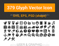 379 Glyph Vector Icon