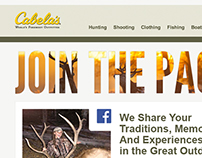 Cabela's Engagement Email