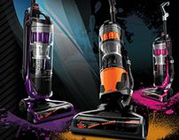 Bissell PowerGlide Vacuum Design Work