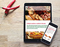 Sikorski Sausages Website Redesign