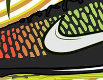 Nike Magista Illustration Concept