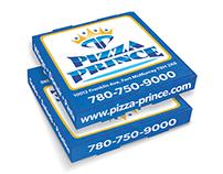 Pizza Prince - Pizza Box Design