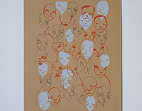 Face Screenprints