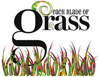 Each Blade of Grass /childrens book