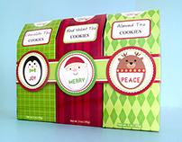 Holiday Tea Cookie 3 Pack - Too Good Gourmet