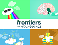 Frontiers For Young Minds - flat illustrations