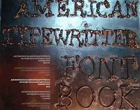 American Typewritter font book