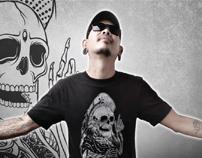 iskeleton t-shirt