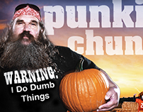 Science Channel – punkin chunkin Digital Campaign