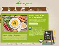 Website Main Page Design