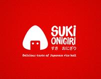 Suki Onigiri Brand Identity