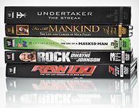WWE Home Video Packaging
