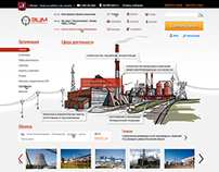 Web site for Power station service company