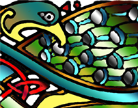More book of Kells - Birds